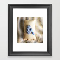 Baby King Lint Framed Art Print