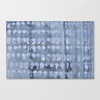 Crying Oysters Canvas Print