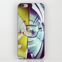 Empty Station-Abstract iPhone & iPod Skin