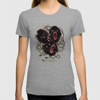 Tangle Womens Fitted Tee Athletic Grey SMALL