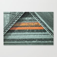 ROOF PATTERNS Canvas Print