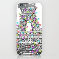 Paris Eiffel Tower Holiday Lights Multi iPhone 6 Slim Case