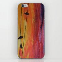 Come Join Me iPhone & iPod Skin