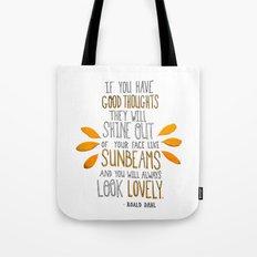 Sunbeams Tote Bag