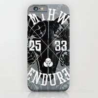 iPhone & iPod Case featuring MTHW 25|33 by Endure Brand