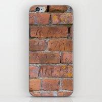 Initially Brick iPhone & iPod Skin