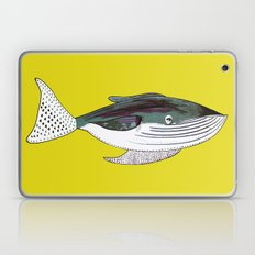 Whale, whale art, whale illustration, art, illustration, design, animal, whales, print, Laptop & iPad Skin