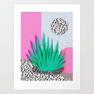 Dag - Throwback Memphis … Art Print