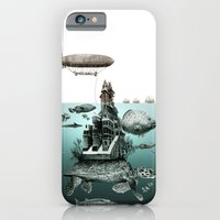 turtle iPhone & iPod Cases featuring turtle by Кaterina Кalinich