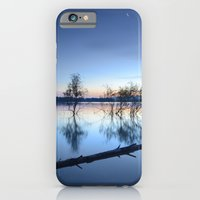 """iPhone & iPod Case featuring """"Blue night"""" by Guido Montañés"""