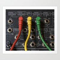 Korg Ms 20 Modular Colou… Art Print