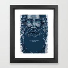 Old Man Framed Art Print