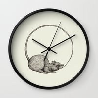 'Ouratoros' Wall Clock