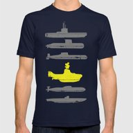 Know Your Submarines Mens Fitted Tee Navy SMALL