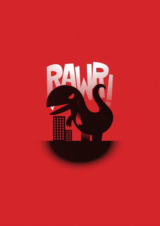 Rawr! Art Print