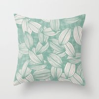 leavesfall Throw Pillow