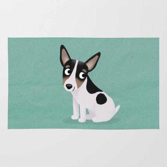 Rat Terrier - Cute Dog Series Area & Throw Rug