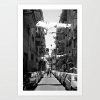 Italy , Napoli 2 Art Print