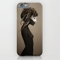 girl iPhone & iPod Cases featuring This City by Ruben Ireland