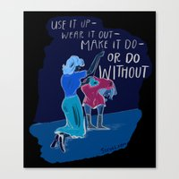 Use it up! Canvas Print