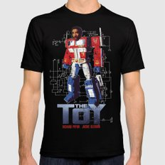 The Toy Poster SMALL Mens Fitted Tee Black