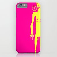 iPhone & iPod Case featuring Thingy by Mini Finger