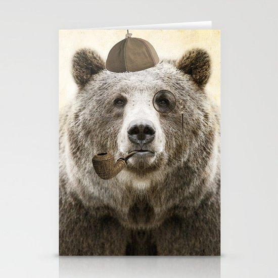 Bear Necessities Stationery Card