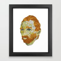 Who Is Vincent Van Gogh? Framed Art Print