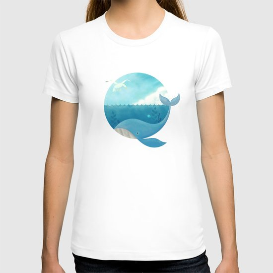 Whale & Seagull (US and THEM) T-shirt