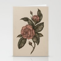 roses Stationery Cards featuring Roses by Jessica Roux