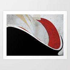 Backatcha Art Print