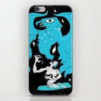 Rebirth (Blue) iPhone & iPod Skin