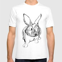 White Rabbit Mens Fitted Tee White SMALL