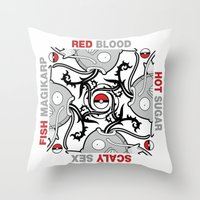 Blood Sugar Sex Magikarp Throw Pillow