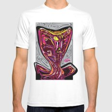 Nalubuff - Get Snake Bit SMALL White Mens Fitted Tee