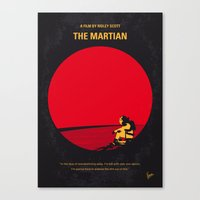 No620 My The Martian Min… Canvas Print