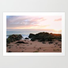 Sunrise over Bass Strait - Tasmania Art Print