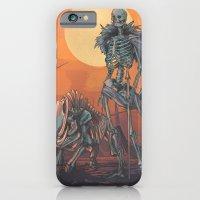 iPhone Cases featuring Freyja and Hildisvíni by Clara Lobsterphone