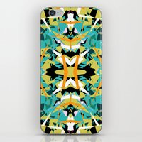 Abstract Symmetry iPhone & iPod Skin