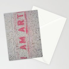 I Am Art Stationery Cards