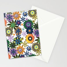 King of Carrot Flowers Stationery Cards