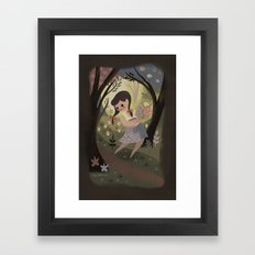 Wild Bouquet Framed Art Print