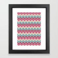 Chevron 2 Framed Art Print