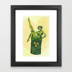 Ghoulie Show Framed Art Print