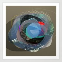 the abstract dream 13 Art Print