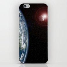 earth, moon and sun iPhone & iPod Skin