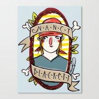 Nancy Blackett Canvas Print