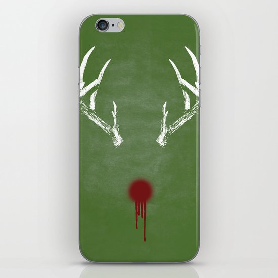 Rudolph the Bloody Nosed Reindeer iPhone & iPod Skin