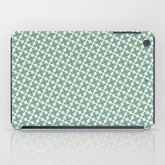 Mint Leaf Pattern iPad Case
