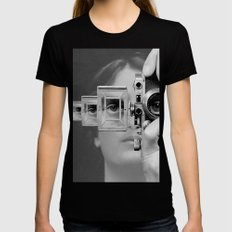 5CM Womens Fitted Tee Black SMALL
